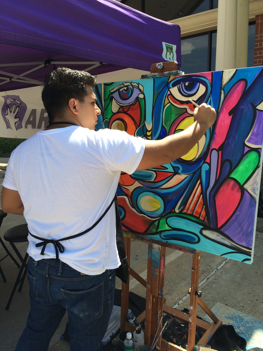Arts Fulshear Art Walk 2015
